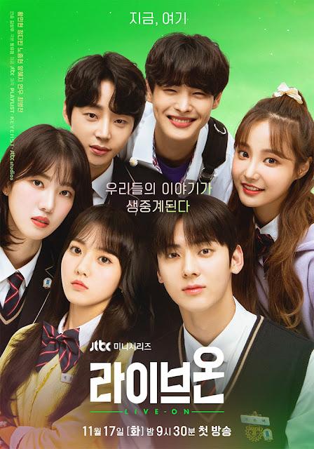 LIVE ON 라이브온 kdrama drama serie