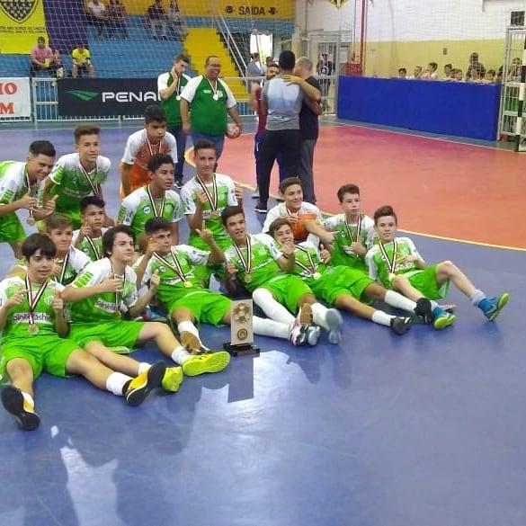 e7f4f617b8 Título – Sub-14 do futsal masculino do São João conquista Série ...