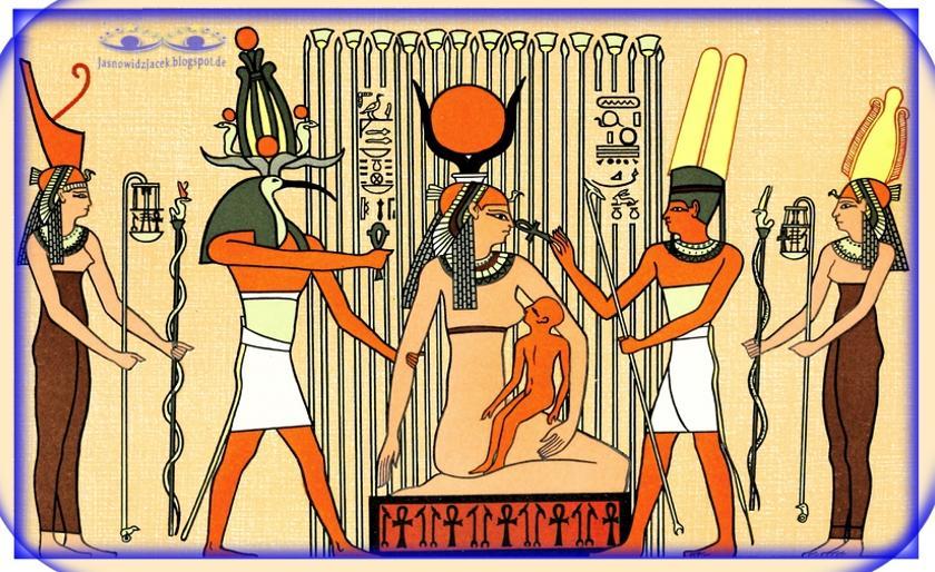 Isis - Izyda i Horus