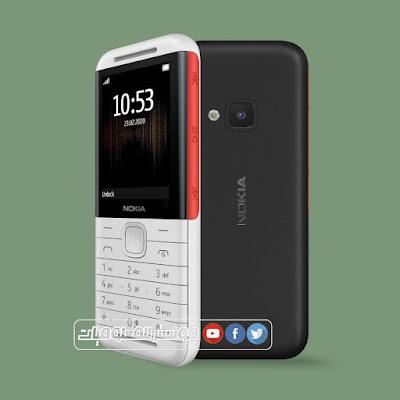 هاتف نوكيا 5310 لتصفح الإنترنت .