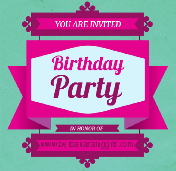 20 Contoh Invitation Birthday Party Besrta Gambar Dalam Bahasa