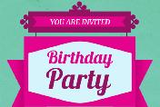 20 Contoh Invitation Birthday Party Besrta Gambar Dalam Bahasa Inggris Dan Artinya Berbahasainggris Com