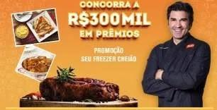 Cadastrar Promoção Swift Seu Freezer Cheião 300 Mil Reais em Prêmios - Edu Guedes