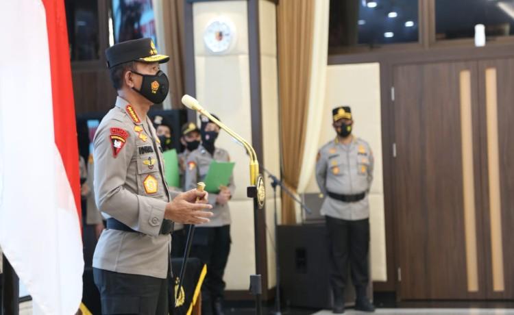 Kapolri Jenderal Polisi Idham Azis Pimpin Korps Raport 46 Pati Polri