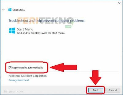mengatasi taskbar ikon windows tidak bisa diklik 4