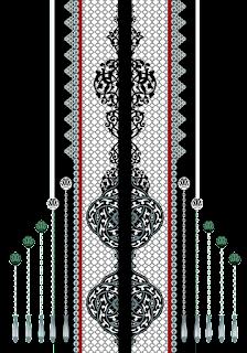 Vector-art-textile-border-design