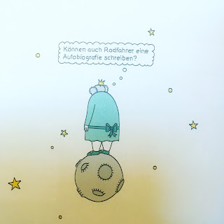 Graphic Novel der kleine Prinz Weltraum Fantasy Einsamkeit Sarkasmus Humor