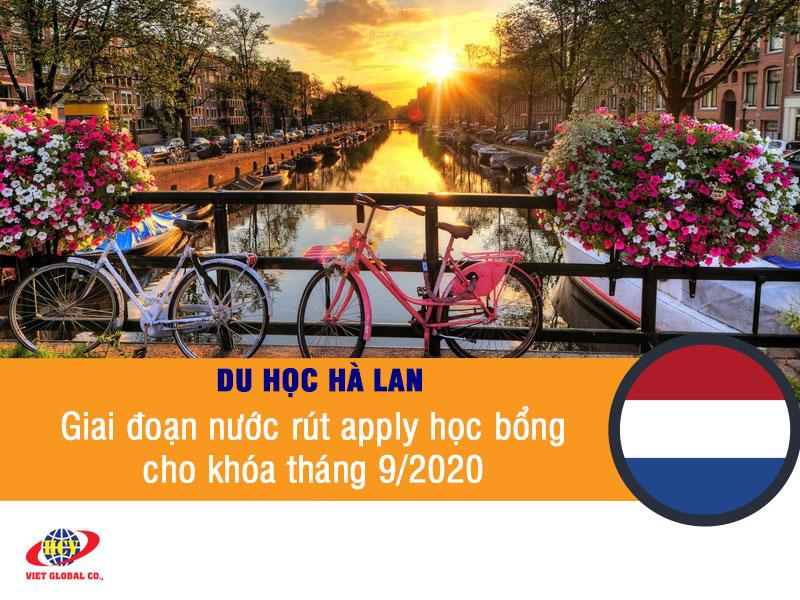 Du học Hà Lan: Giai đoạn nước rút apply học bổng khóa tháng 9/2020