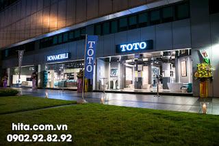 Showroom thiết bị phòng tắm TOTO cao cấp chiết khấu tốt nhập khẩu 2018 - 2019