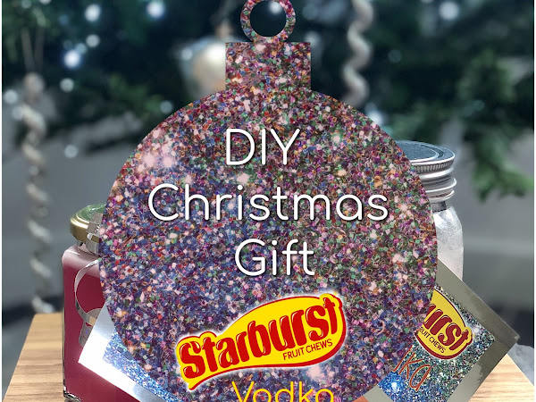 DIY Christmas Gift | Starburst Vodka
