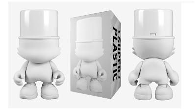 White UberKranky Vinyl Figure by Superplastic