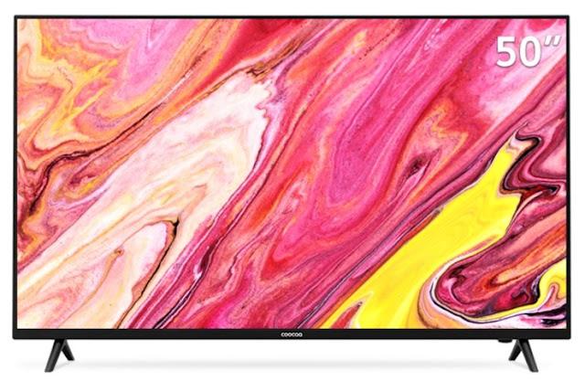 Harga TV LED Coocaa 50S3N Smart TV 50 inch 4K