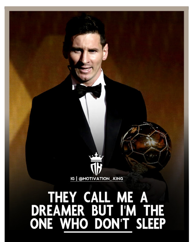 Messi quotes on attitude images download