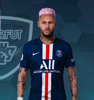 PES 2020 Faces Neymar Jr by Jonathan Facemaker