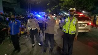 Sekelompok Pemuda Di Bubarkan Anggota Patroli Pada Malam Takbiran,Kapolsek Memberi Sanksi