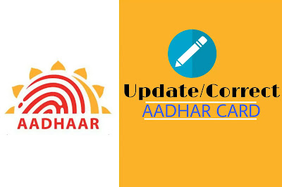 How to update or correct details in Aadhar card