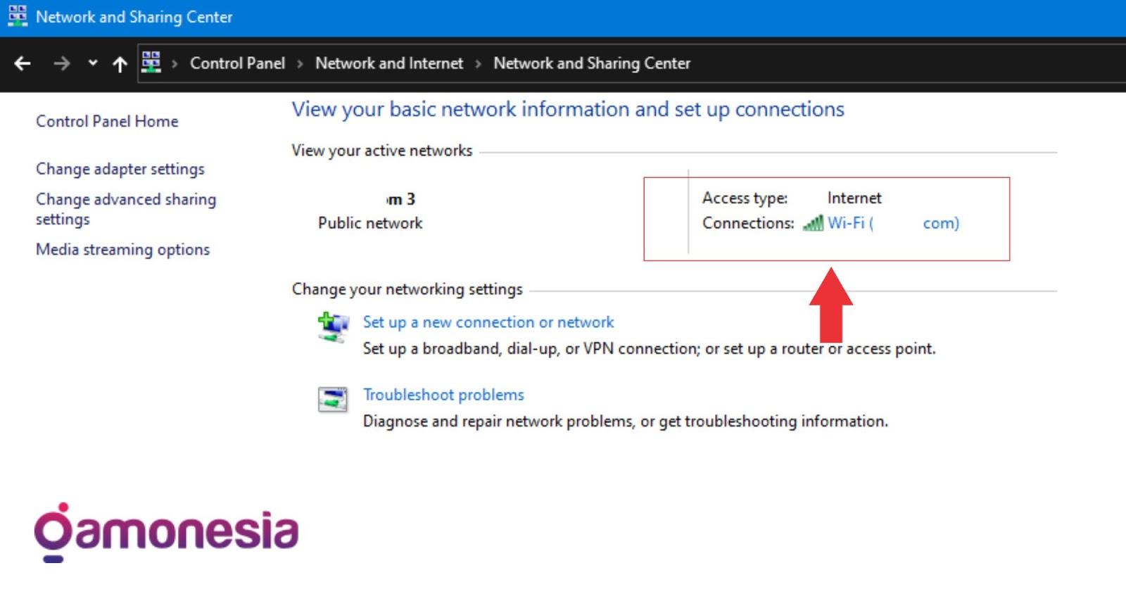 cara melihat password  wifi di windows 10