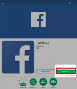 Latest Facebook Update
