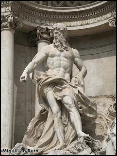Resultado de imagen de neptuno fontana di trevi
