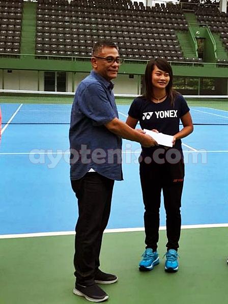 Ketum PP PELTI Rildo Ananda Anwar Ajak Netizen Vote Priska di Fed Cup Heart Award 2020