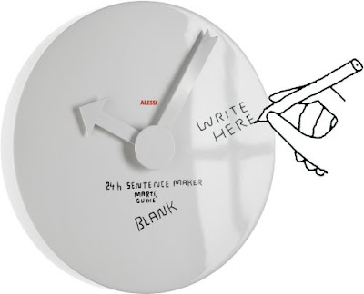 What They Said about the Blank Wall Clock