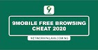 9mobile Free Browsing Cheat For April 2020