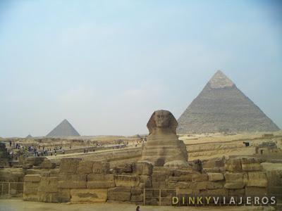Esfinge y Pirámides de Giza
