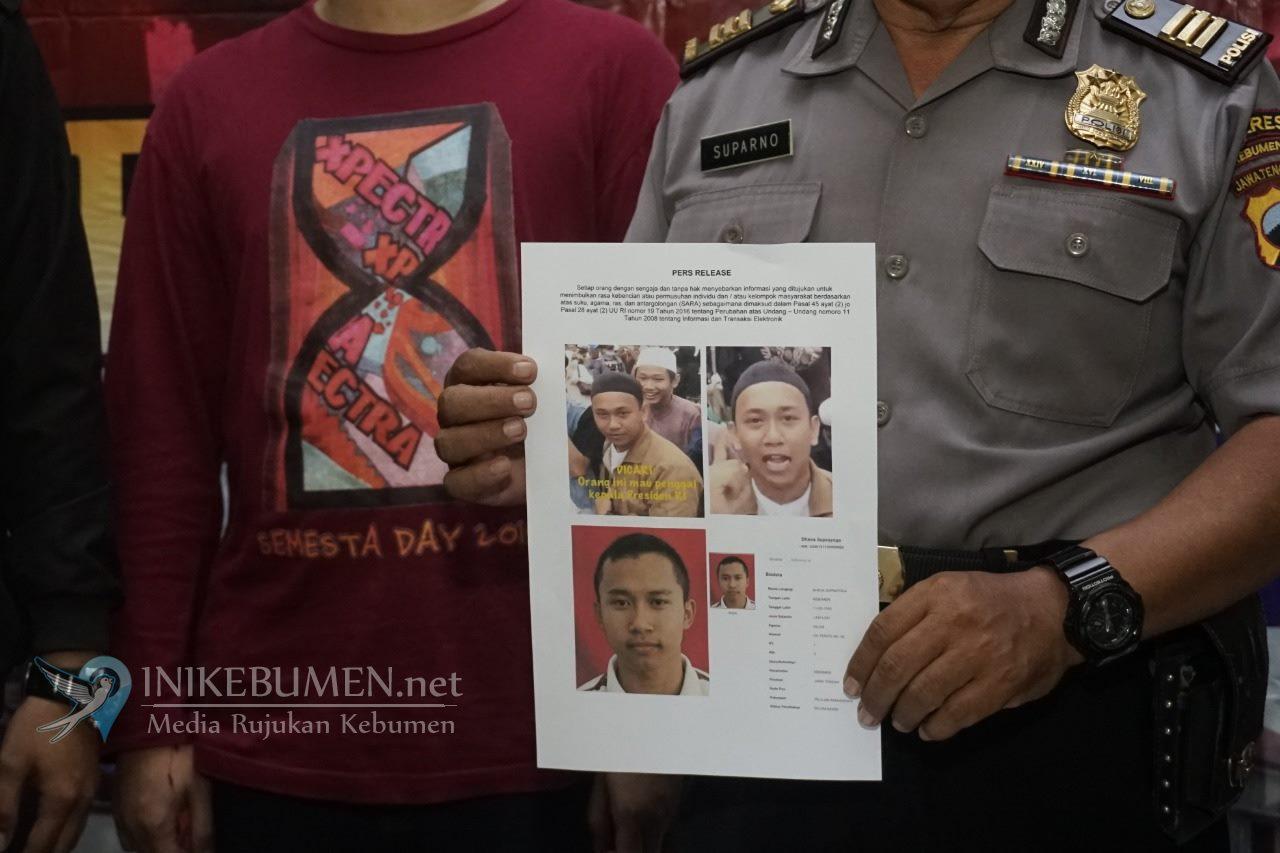 Dikira Pria yang Ancam Akan Penggal Leher Jokowi, Pemuda Kebumen ini Berikan Klarifikasi