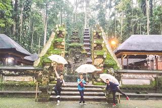 Berpetualang Di Objek Wisata Sangeh, Bali