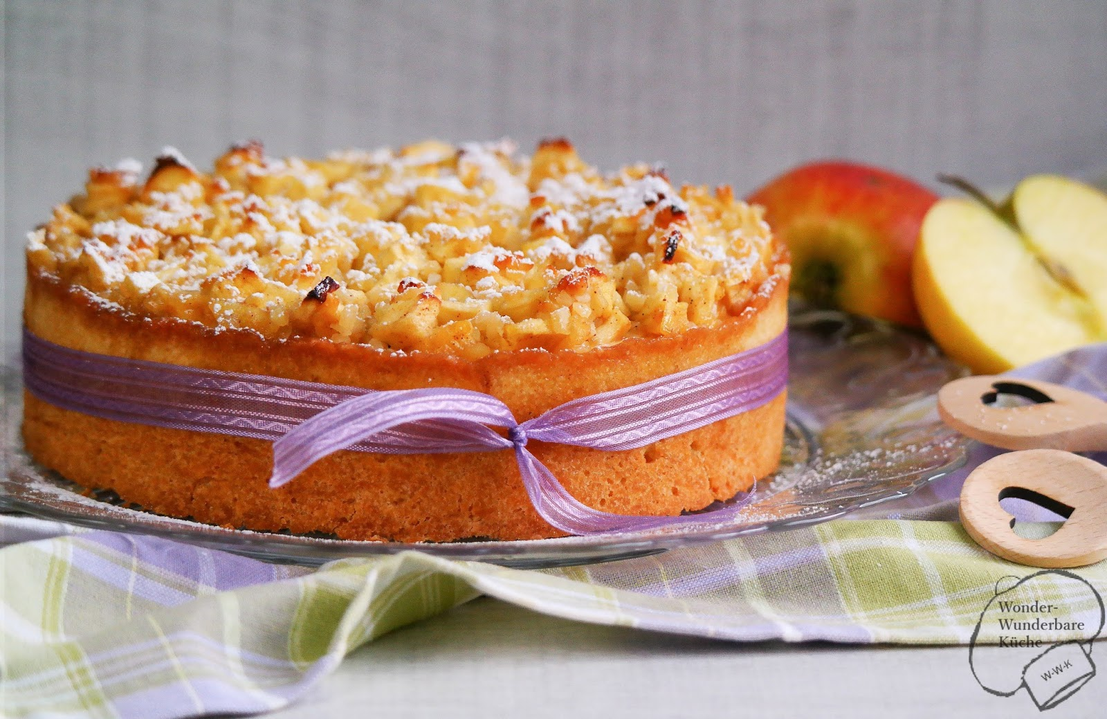 Kleine kuchen apfel k sekuchen for Kleine kuchen gunstig