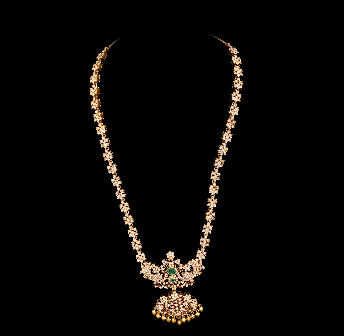 Gold And Diamond Jewellery Designs Indian Diamond Bridal Necklace