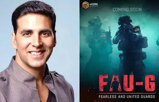 FAU-G After PUBG Game launched Fearless and united guards action game with mentorship from akshay kumar