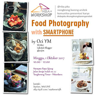 Workshop Food Photography Oci YM by Smartphone