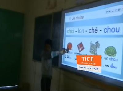 Les TICE à l'école rurale: Lecture 3AEP (Le phonème [g]) - 1ère séance