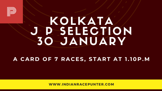 Kolkata Jackpot Selections 30 January