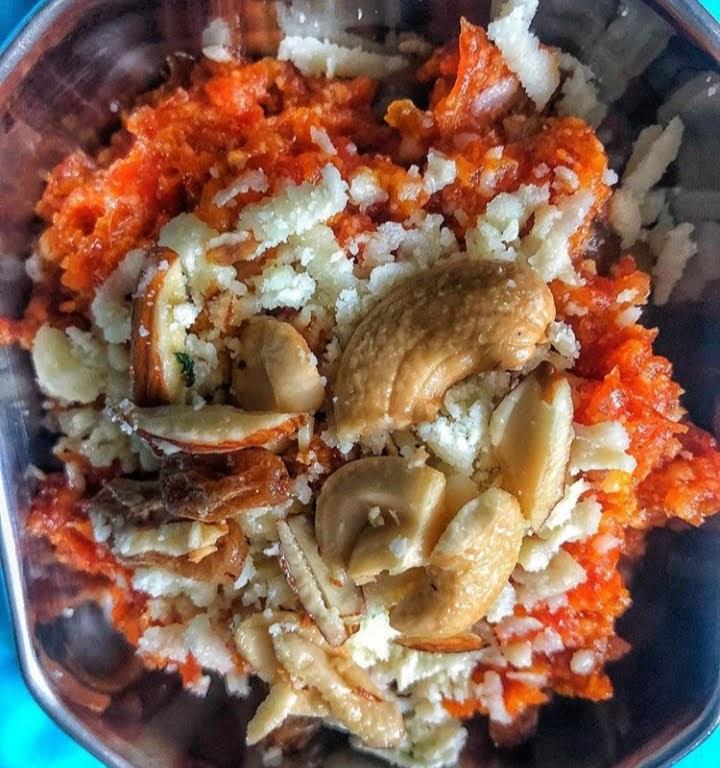 How to make gajar ka halwa//carrot halwa recipe// carrot