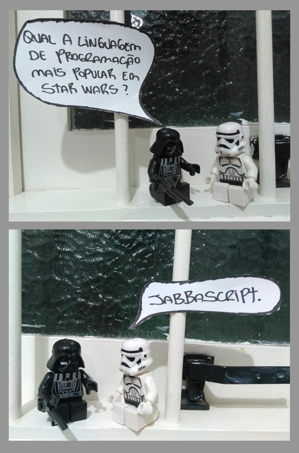 linguagem de programacao mais popular em star wars