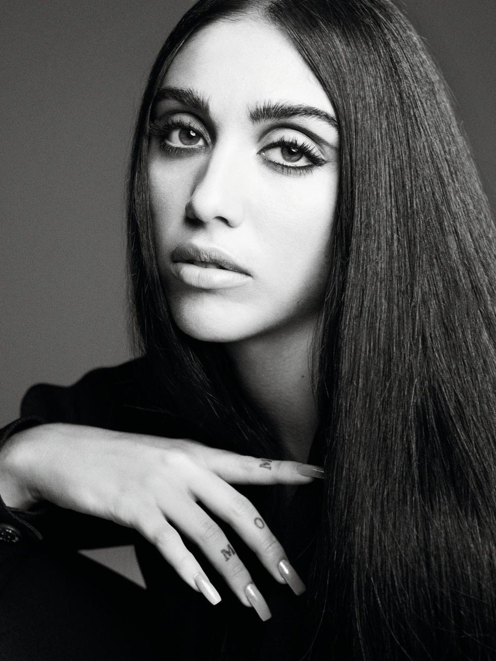 SMILE:Lourdes Leon in Vogue Paris September 2021 by Karim Sadli