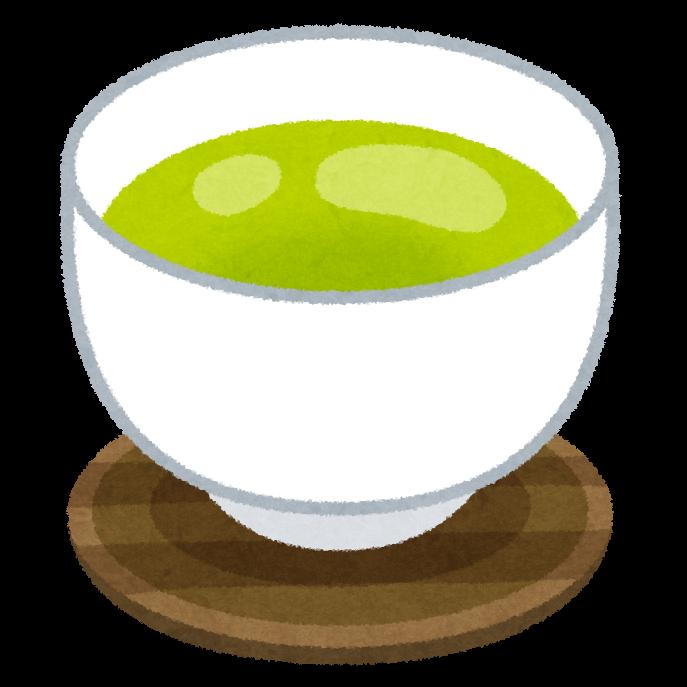 お茶 イラスト