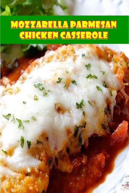 #Mozzarella #Parmesan #Chicken #Casserole