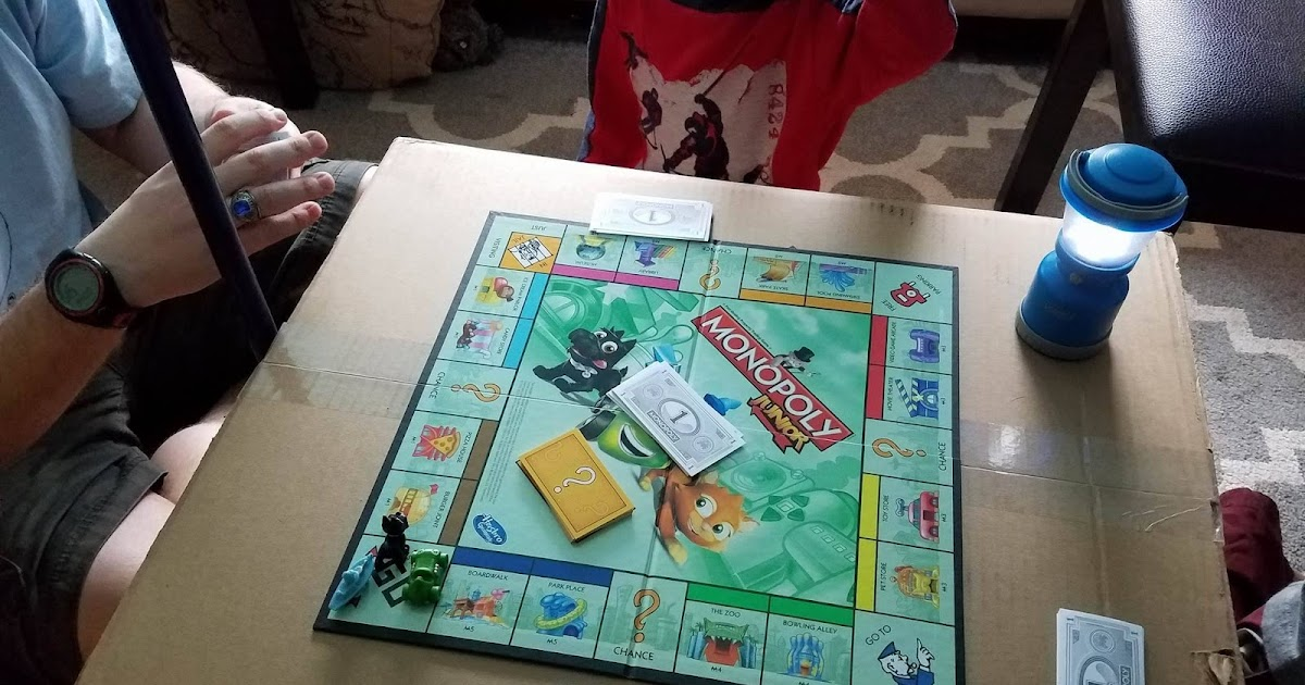 Shipwrecked!: Day 363: Blanket Forts and Board Games