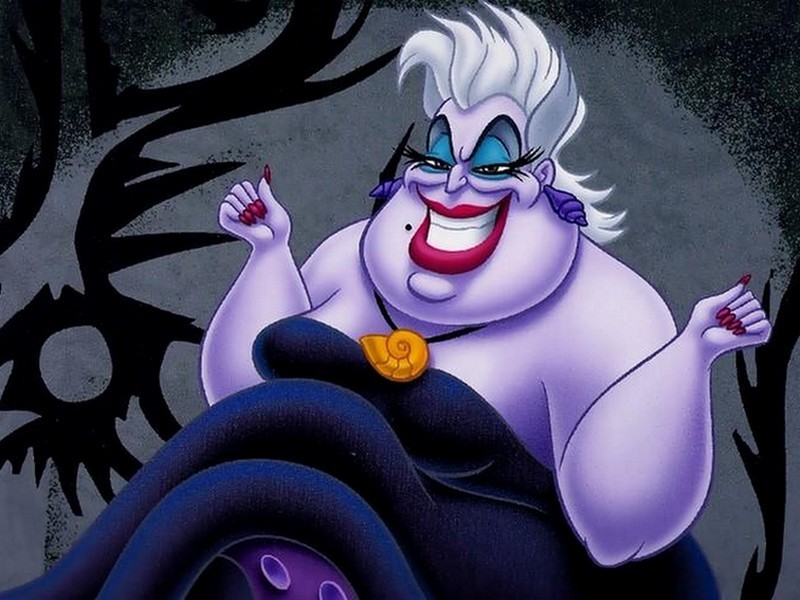 Role The Sea Witch Villainy Con-artist imprisons Merfolk evil sorcery. Hates Triton the Sea King Ariel Minions Flotsam u0026 Jetsam (electric eels) & The Disney Diner: 31 Days of Villainy: Ursula