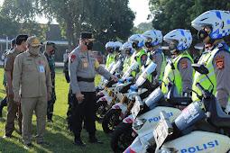Operasi Keselamatan Rinjani 2021 Polda NTB, Sepeda Motor Gunakan Lajur Kiri