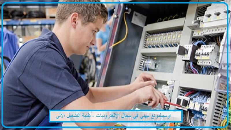 اوسبليلدونغ  مهني في مجال الإلكترونيات - تقنية التشغيل الآلي Elektroniker/in für Automatisierungstechnik