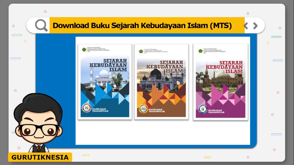 download gratis buku pdf sejarah kebudayaan islam untuk mts