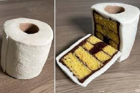 Baker tricks Instagram with hilarious toilet roll CAKE amid coronavirus supermarket shortages