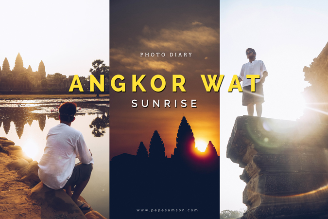 IN PHOTOS | Sunrise in Angkor Wat, Siem Reap, Cambodia