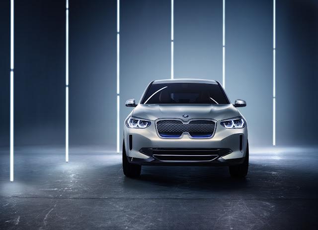 BMW revela o iX3 no Salão de Pequim 2018