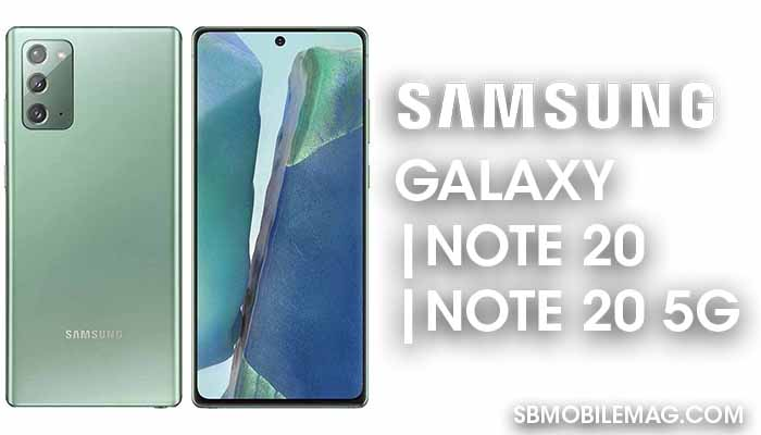 Samsung Galaxy Note 20, Samsung Galaxy Note 20 5G