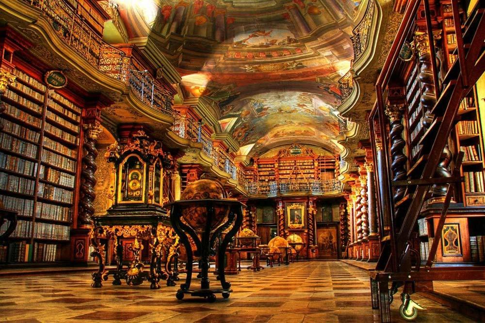 Biblioteca Clementinum Klementinum Praga
